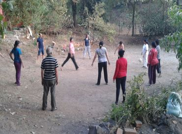 Yoga vihaar - Recreation at Satyam Shivam Sundaram, Alibag